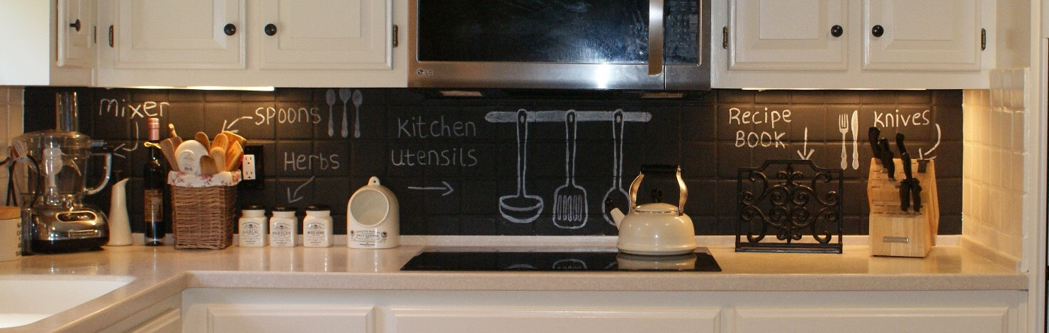THINGS YOU WILL NEED. Chalkboard Paint ...